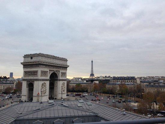 Adagio Access Paris Tilsitt Champs Elysees - ex-Citea: Terraço 4