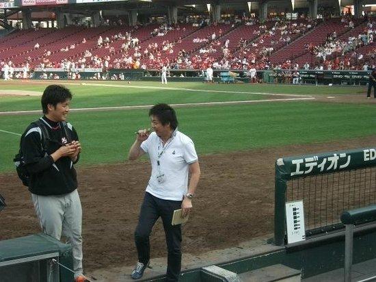 MAZDA Zoom-Zoom Stadium Hiroshima : Player