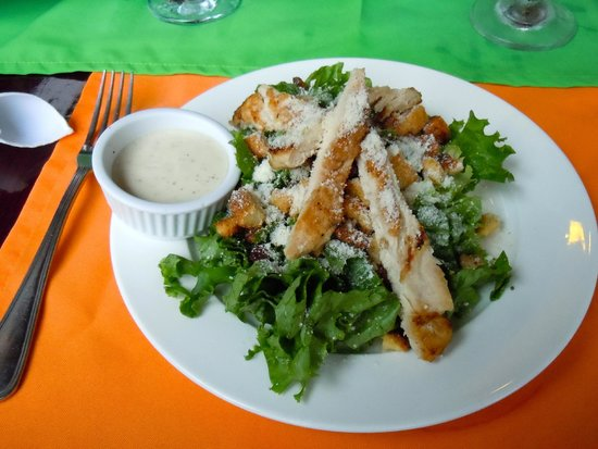 Que Rico Arenal: probably the best caesar salad I have ever had