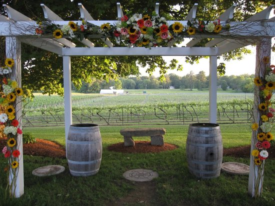 Flag Hill Winery : Beautiful wedding venue