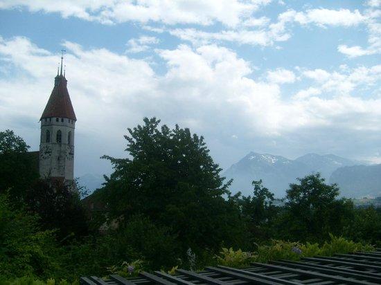 Schloss THUN : view from Zahringen Castle