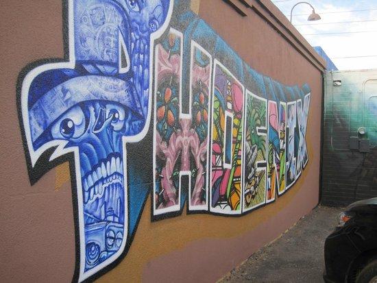 Barrio Cafe : Phoenix mural