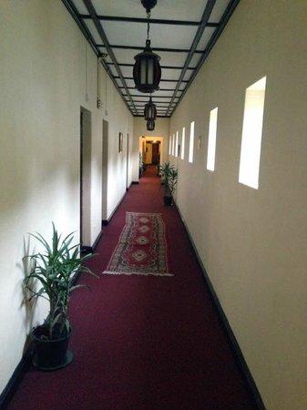 The Hill Club: Hallways