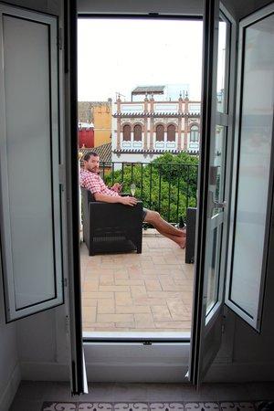 Hotel Boutique Elvira Plaza: balcony