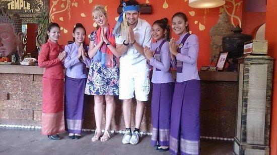 Golden Temple Hotel: The amazing Golden Temple team
