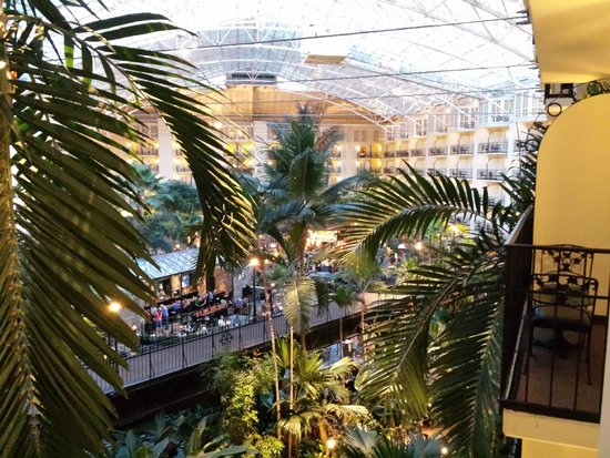 Gaylord Opryland Resort & Convention Center: A view from our 4th floor balcony in the Cascades