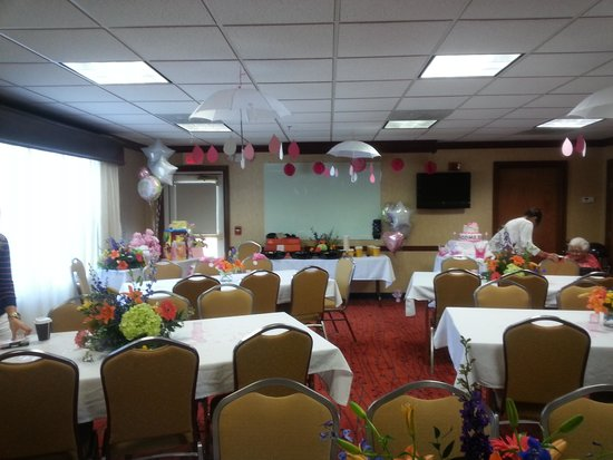 Residence Inn Dayton Troy: Beautiful location for a baby shower