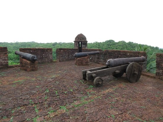 Reis Magos Fort: Cannons