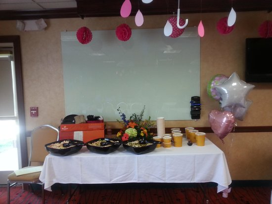 Residence Inn Dayton Troy : Excellent suggestions for catering