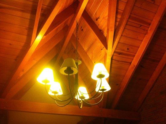 Posada Los Alamos: Detalhe charmoso no quarto!