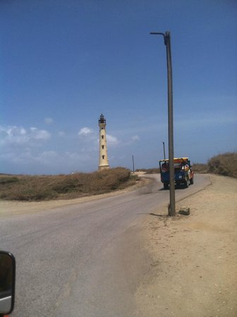 ABC Tours Aruba California Light House