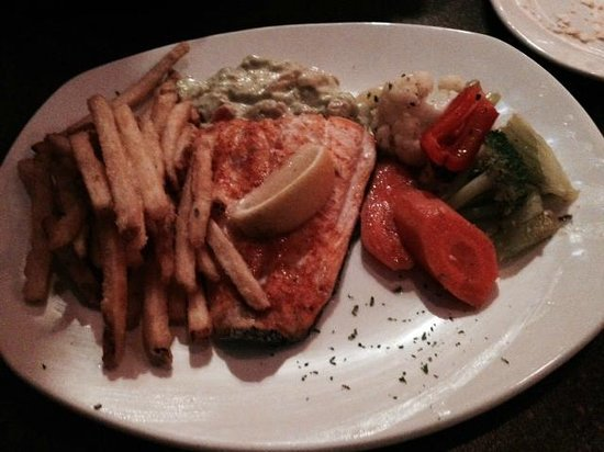 The salmon special, Silver Heights Restaurant and Lounge  |  2169 Portage Ave, Winnipeg, Manitob