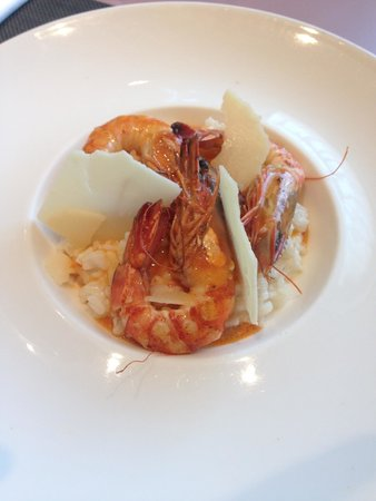 Ibis Styles Tours Sud : Lobster risotto - with shrimp ( no change in price )