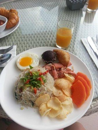 Langkawi Chantique Resort: fried mihun..quite nice~