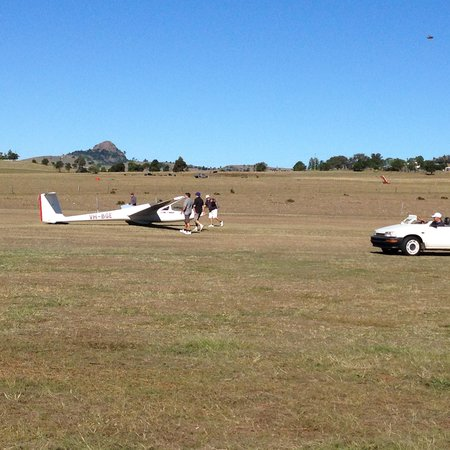 Boonah Gliding Club: Nice location