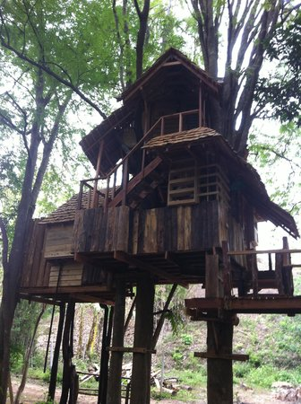 Rabeang Pasak Tree House Resort: Moon House