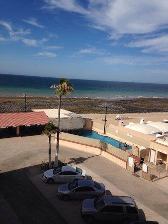El Mirador Village Hotel: Pool view from the 4th floor