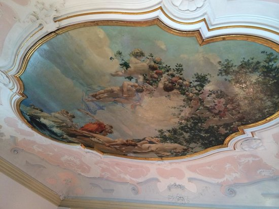 Corte Di Gabriela: Ceiling of our room