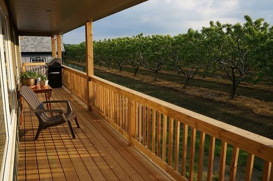 On the 6 Bed and Breakfast: Vie wof the Orchards