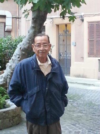 Residence San Pietro La Corte: My dad's smoking corner.