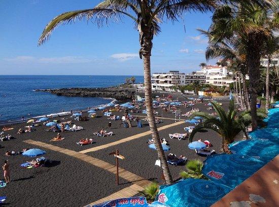 Playa de la Arena : Западный участок