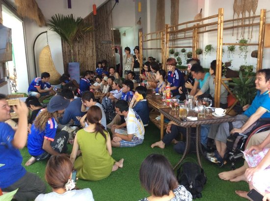 Green on peace cafe & bar : ワールドカップ1