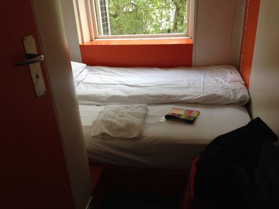 easyHotel London South Kensington: View from the door