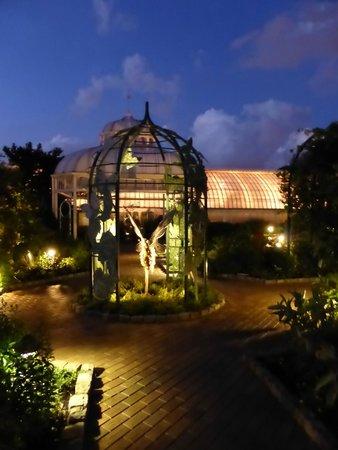Phipps Conservatory : Botanischer Garten in der Nacht