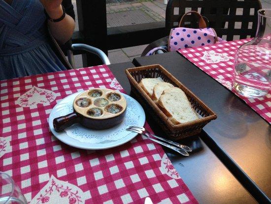 Winstub S'kaechele : Escargot