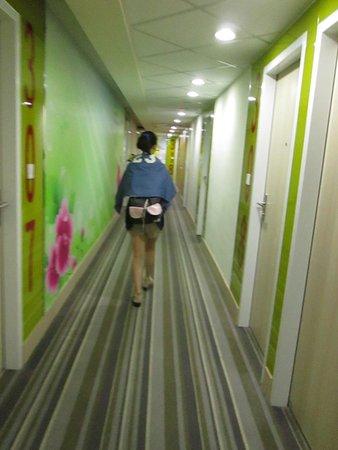 i-Deal Hotel: 三樓的走廊
