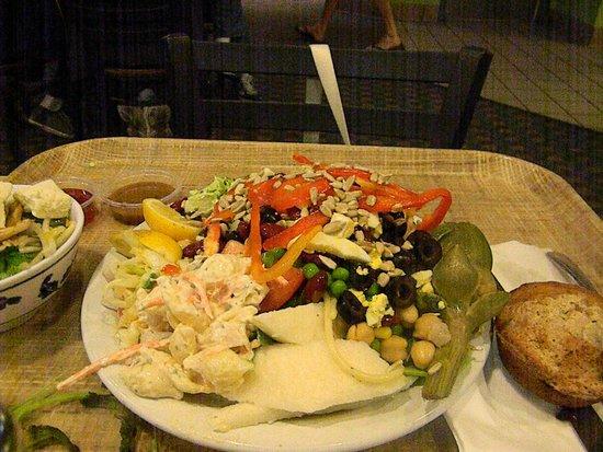 Fresh Choice: wife's plate
