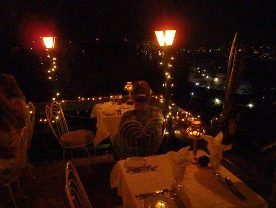 Evita's Italian Restaurant: our table