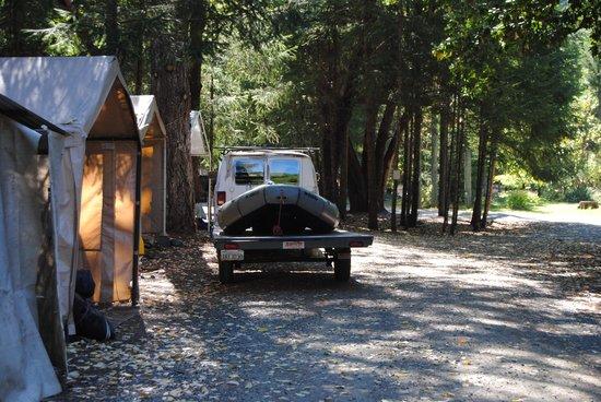Big Bar, แคลิฟอร์เนีย: Base camp