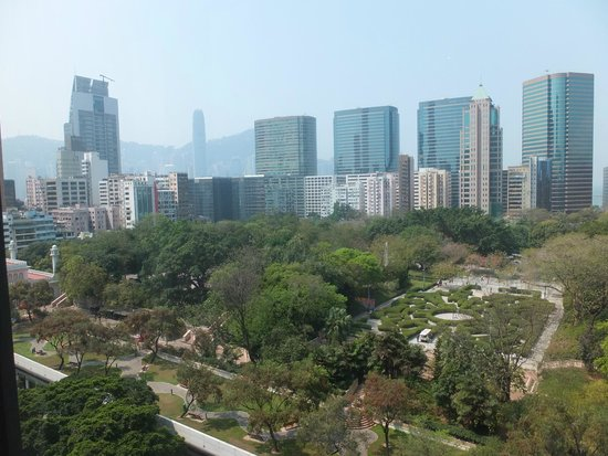 The Mira Hong Kong : great view of park below