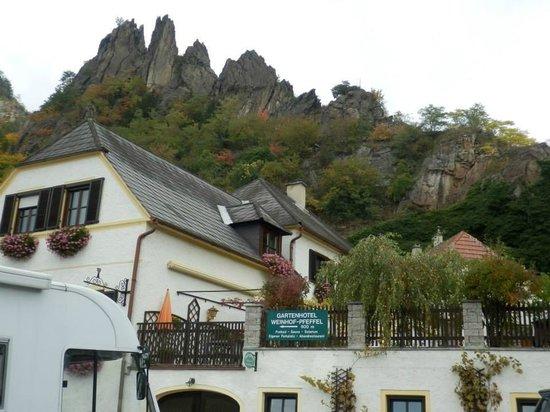 Wachau Valley : Дома, прилепившиеся к отвесным скалам