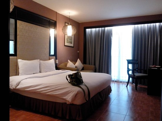 Royal View Resort: ห้องที่เข้าพักเมื่อเดือนมิ.ย. 57