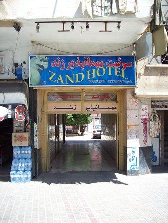 Zand Hotel: One of the worst hotels in Shiraz