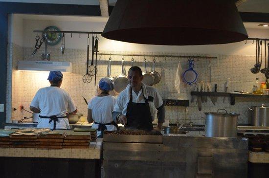 Celeste Mountain Lodge: The chef