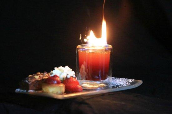 Ferrette, ฝรั่งเศส: le dessert numero 18 ...pim pom pim pom !