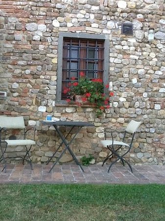 Villa Le Torri: breakfast time