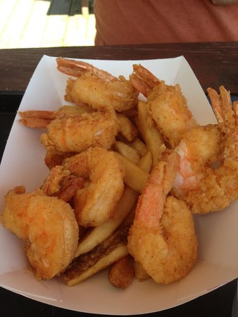 Old Oregon Smokehouse: Shrimp and chips
