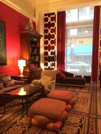 Kimpton Hotel Monaco Portland: Lobby Lounge