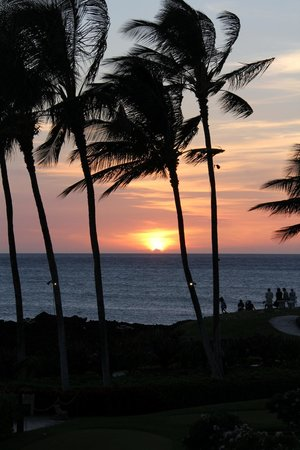 Hilton Waikoloa Village: Sunsets are magical here