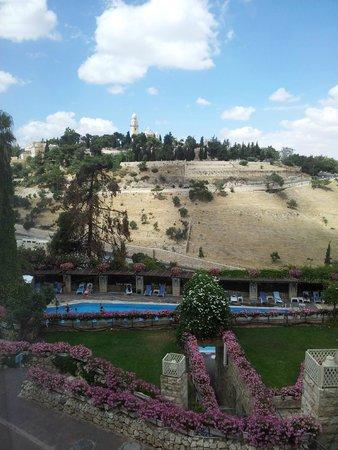 Mount Zion Hotel : הנוף מהחלון