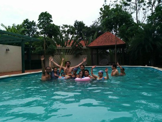 Sunray Village Resort: Having fun at private pool