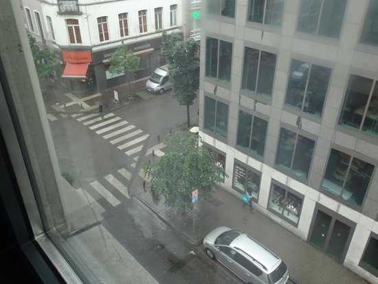 Ibis Brussels Centre Gare Midi : View from room