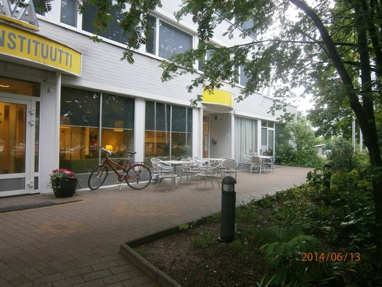 Ava Hotel: Вход в отель