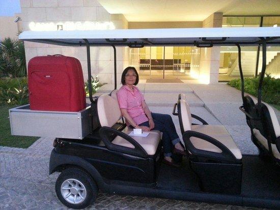 EPIC SANA Algarve Hotel: The hotel cab :-)