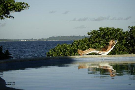 Benjor Beach Club: Enjoying the seaside pool