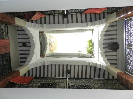 Riad Andalla : patio